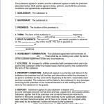 Alabama Sublease Agreement Form