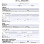 Alaska Rental Application Form