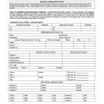 California Rental Lease Application - RW 11-5 Form