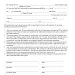 California Additional Tenant Addendum to Rental Agreement