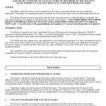 New York City Lease Rider For Rent Stabilized Tenants - RA-LR1 Form