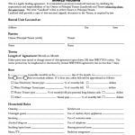 California Room Rental Agreement